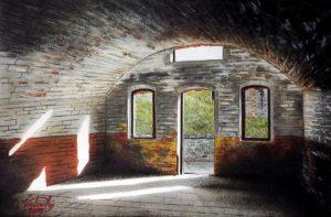 Casemate - fort de la Motte-Giron - Dijon - © B. Vintousky