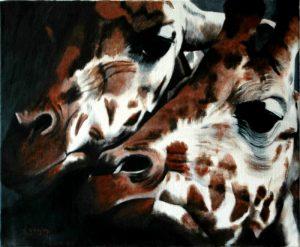 15 les girafes