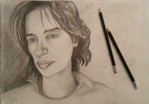 Autoportrait (crayon)