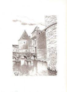 Château de Posanges - © B. Vintousky