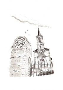 Eglise de Quetigny - © B. Vintousky