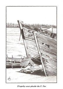Epaves à Noirmoutier - © B. Vintousky