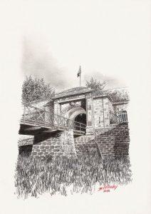 Fort d'Uxegney - Epinal - © B. Vintousky (1)