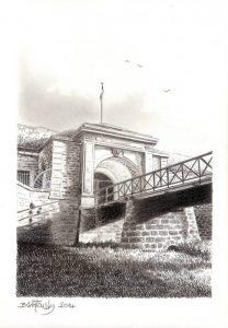 Fort d'Uxegney - Epinal - © B. Vintousky (2)