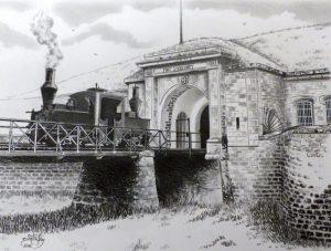 Fort d'Uxegney et locotracteur Péchot - © B. Vintousky (5)