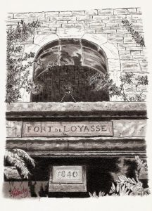 Fort de Loyasse - Lyon - © B. Vintousky