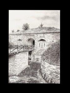 Fort de la Motte-Giron - Dijon - © B. Vintousky