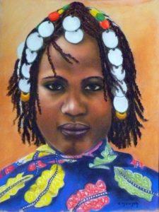Jeune malienne c
