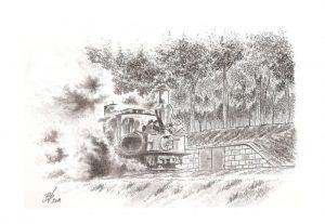 Locotracteur au fort d'Uxegney (Epinal) - © B. Vintousky
