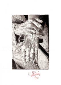 Mains croisées - © B. Vintousky