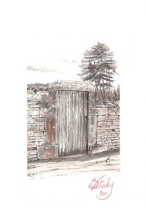 Porte de vignes - Mercurey - © B. Vintousky