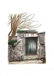 Porte sur vignes - © B. Vintousky