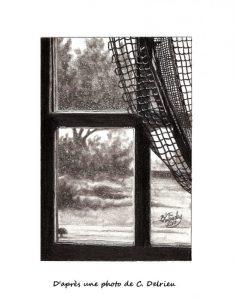 Vieille fenêtre - Vieilles verges - © B. Vintousky