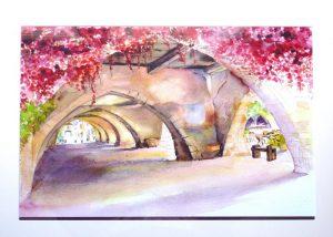 aquarelle- paysage urbain(12)