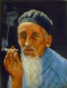 vieux fumeur taï